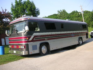 1986 Newell Pusher Motor Home