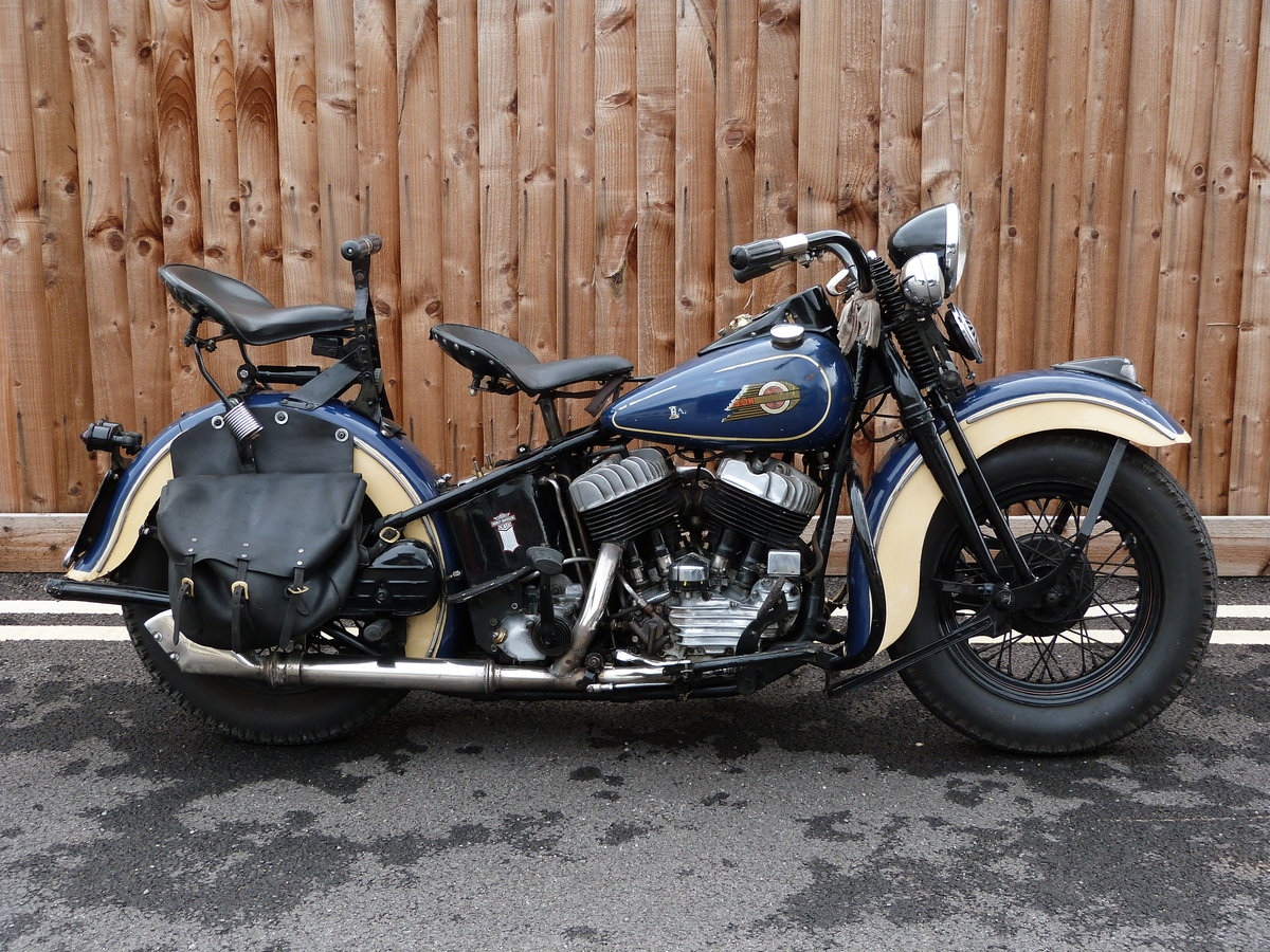 1942 Harley Davidson 1200cc Model U SOLD by Auction (picture 1 of 6)