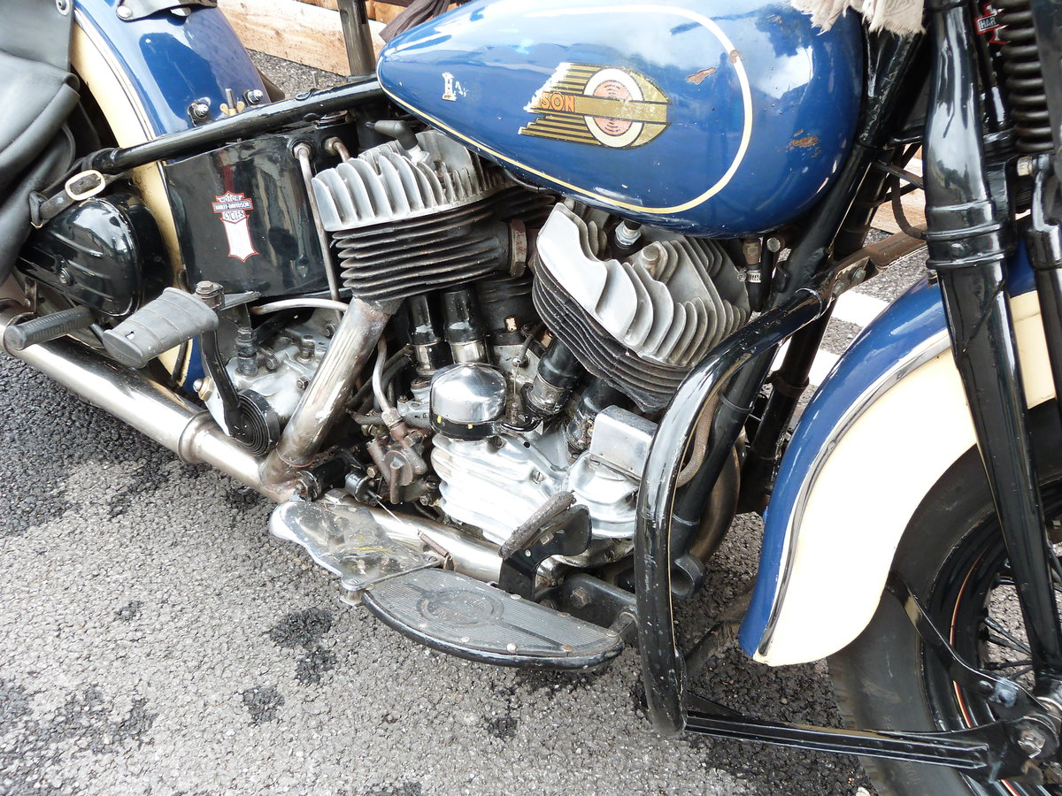 1942 Harley Davidson 1200cc Model U SOLD by Auction (picture 3 of 6)
