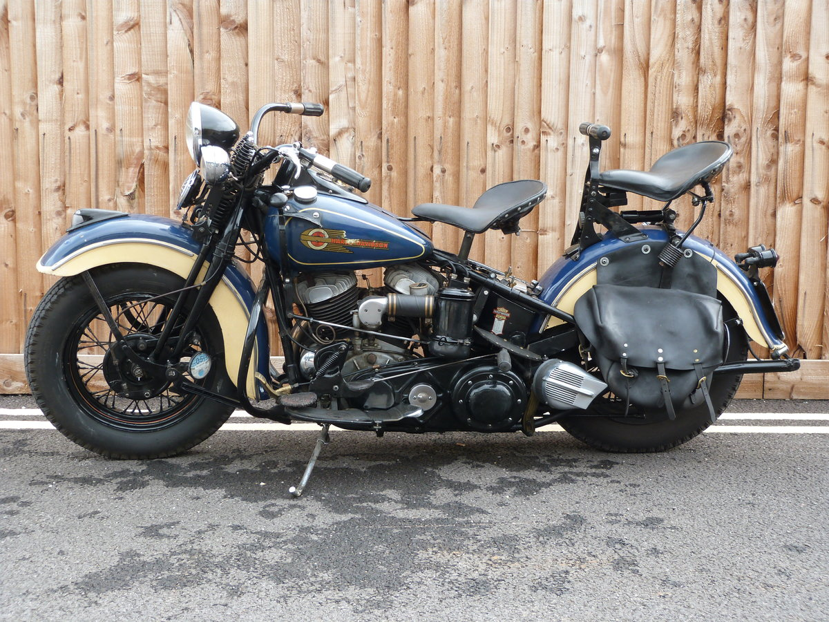 1942 Harley Davidson 1200cc Model U SOLD by Auction (picture 4 of 6)