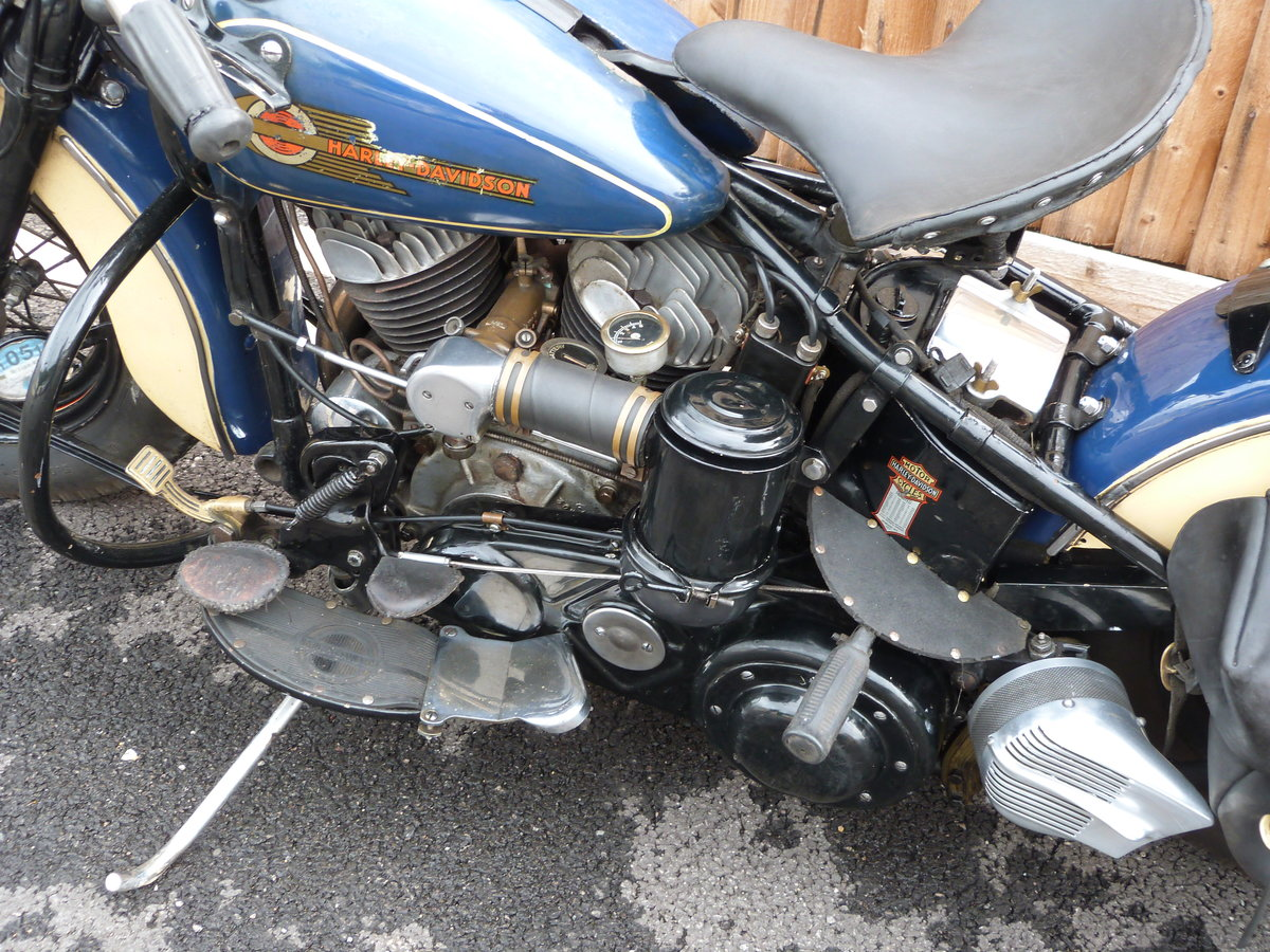 1942 Harley Davidson 1200cc Model U SOLD by Auction (picture 5 of 6)