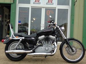 Harley-Davidson XL 883C Sportster Custom Only 3000 Miles