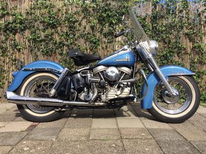 Picture of harley davidson 1962 duo glide