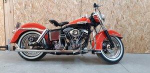 UK BIKE Harley Davidson FLH Shovelhead