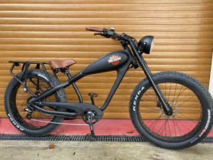 Picture of 2020 ELECTRIC E-BIKE CRUISER BOBBER NEW HARLEY DAVIDSON STICKER For Sale