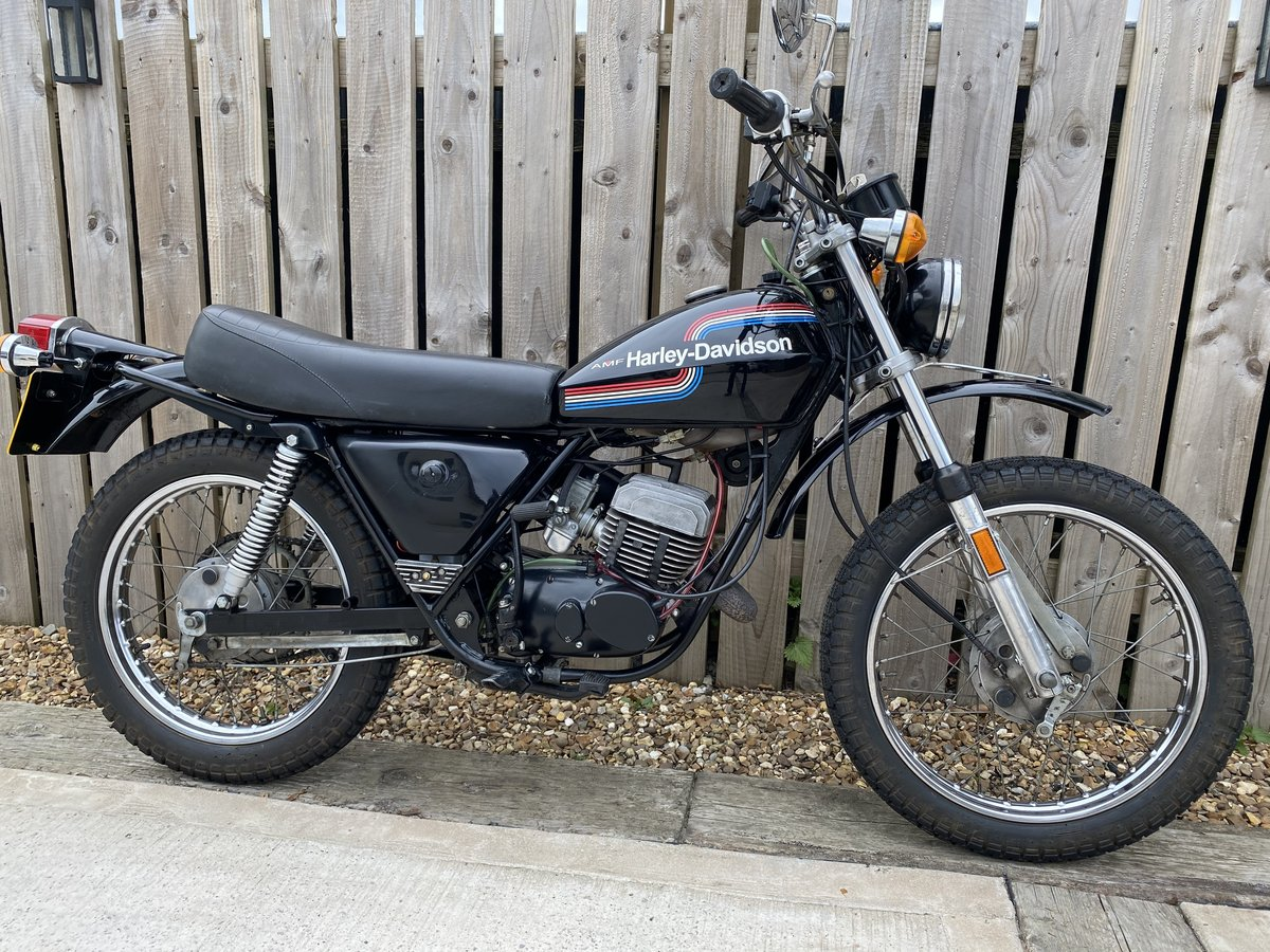 1976 HARLEY DAVIDSON 125 SX CLASSIC LEARNER TRAIL TRIAL BIKE!  For Sale (picture 2 of 6)