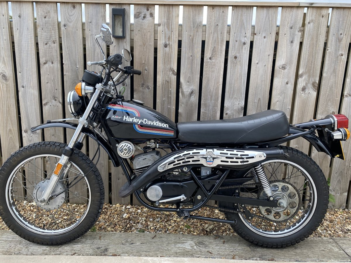 1976 HARLEY DAVIDSON 125 SX CLASSIC LEARNER TRAIL TRIAL BIKE!  For Sale (picture 5 of 6)