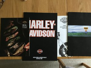 Picture of 1991 Harley Davidson brochures For Sale