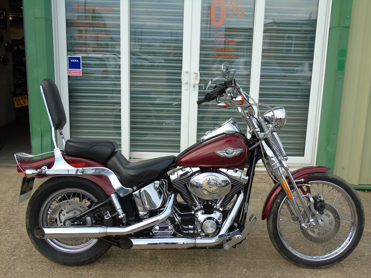 2003 Harley Davidson FXSTS Softail Springer Anniversary Edt For Sale (picture 1 of 6)