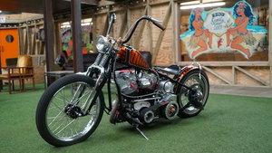 64 Harley Panhead Hardtail Chopper