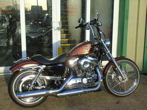 Picture of 2014 Harley-Davidson XL 1200V Sportster Seventy Two 72, Low Miles For Sale