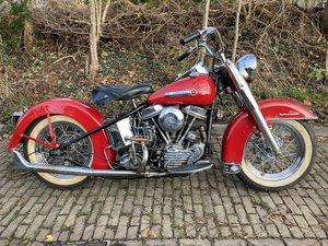 Harley davidson Hydra glide 1950