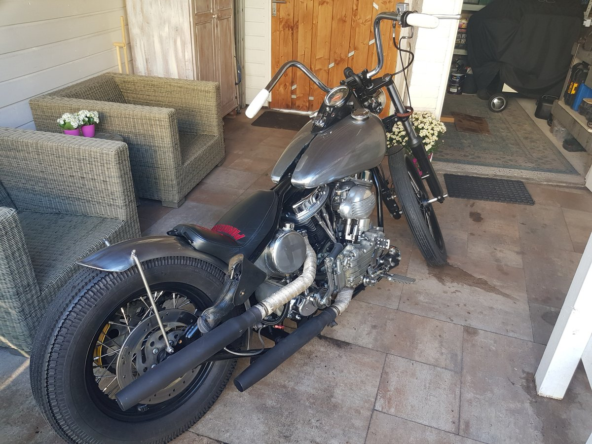 1988 Harley Davidson Panhead 1200 For Sale (picture 1 of 3)
