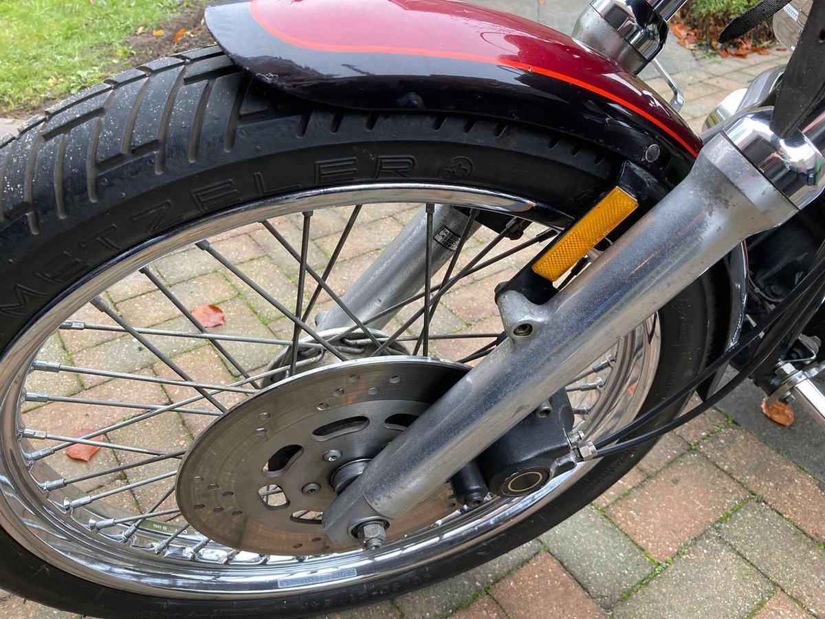 1987 harley davidson FXRLC low rider custom For Sale (picture 9 of 10)