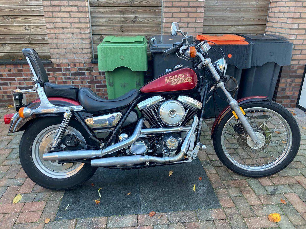 1987 harley davidson FXRLC low rider custom For Sale (picture 10 of 10)