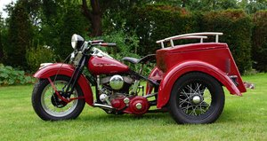 Picture of Harley Davidson 750cc Servicar 1945 For Sale