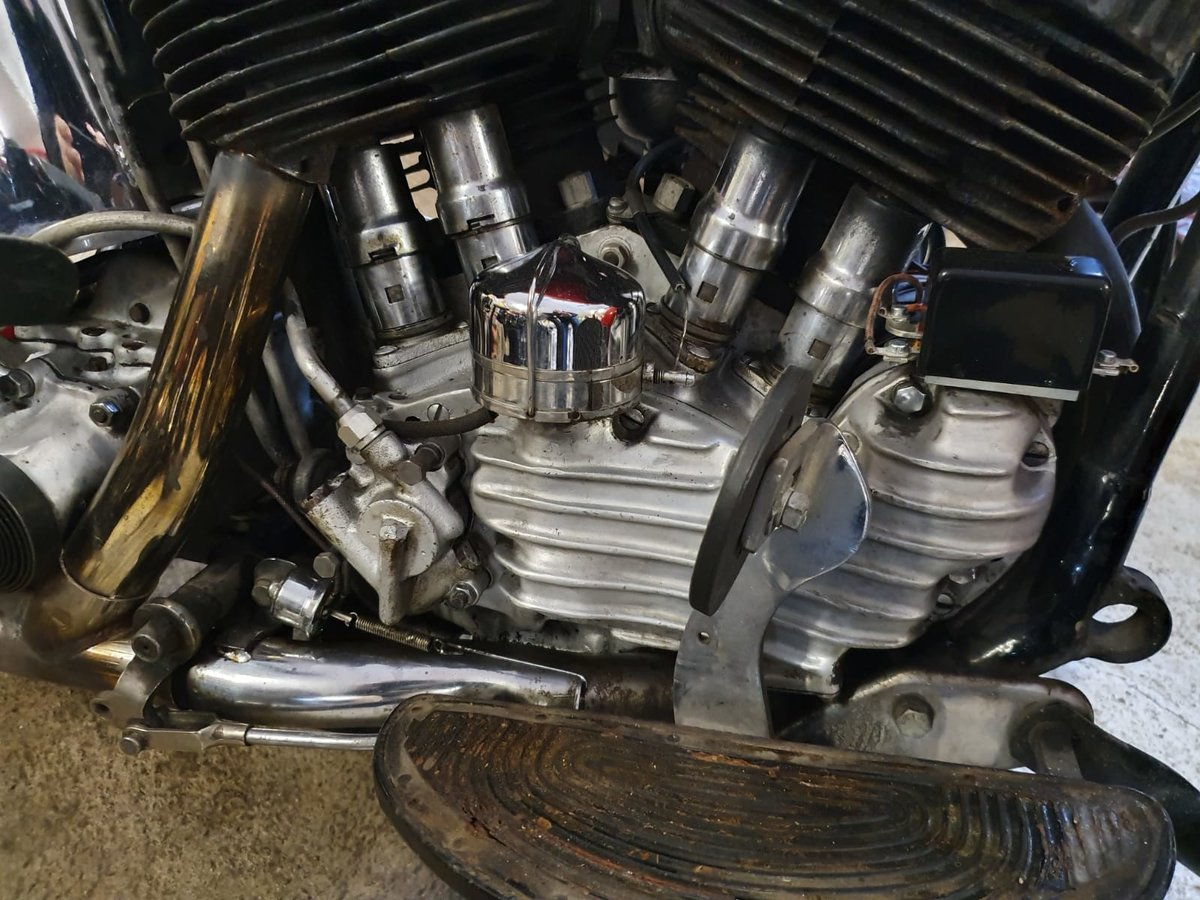 Harley Davidson Model U 1947 For Sale (picture 5 of 12)