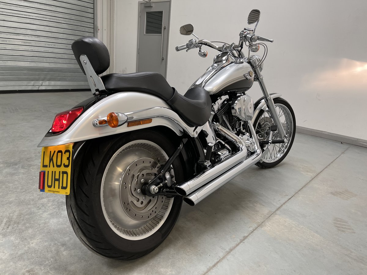 2003 Harley soft tail deuce For Sale (picture 2 of 12)