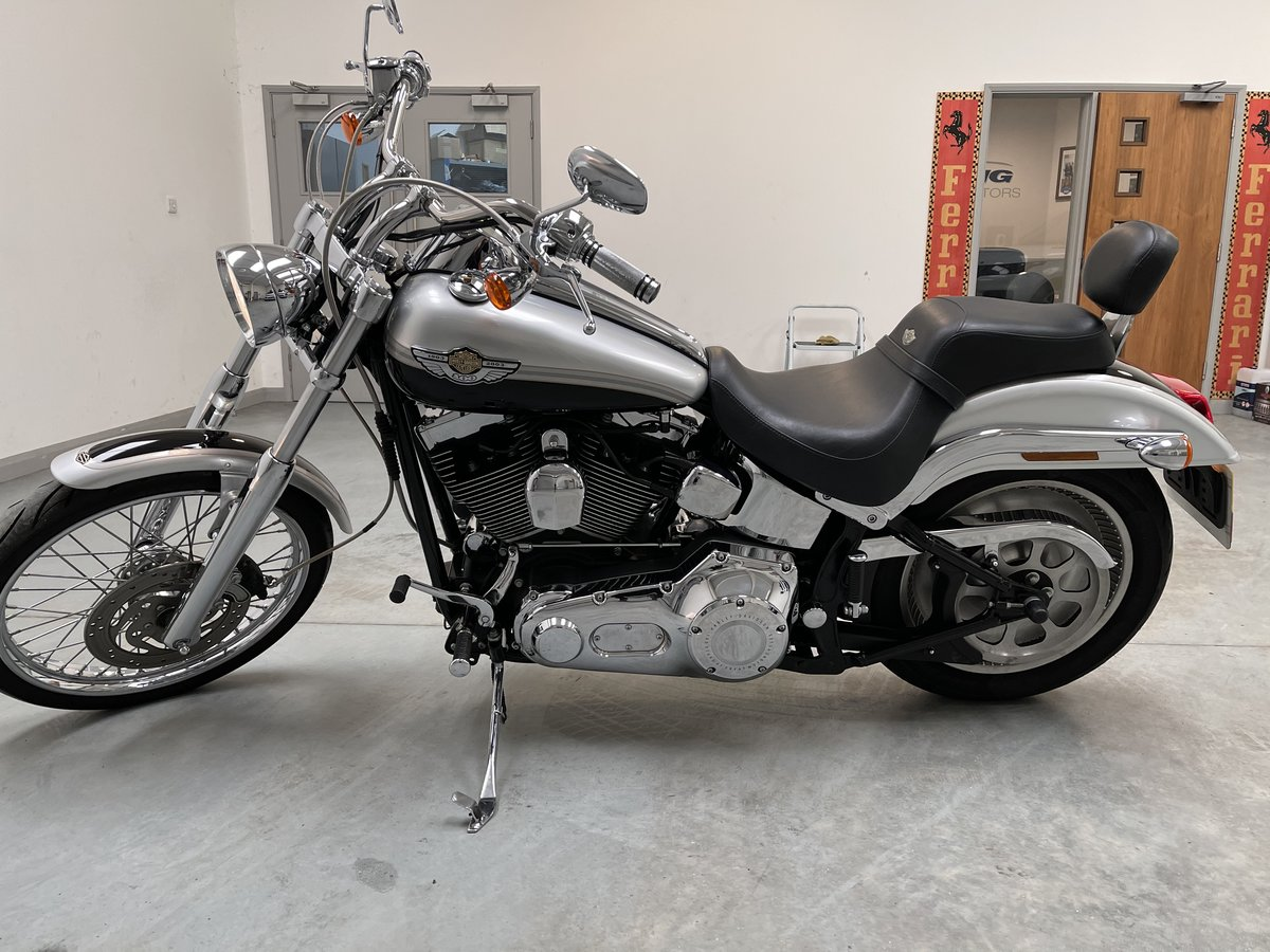 2003 Harley soft tail deuce For Sale (picture 3 of 12)