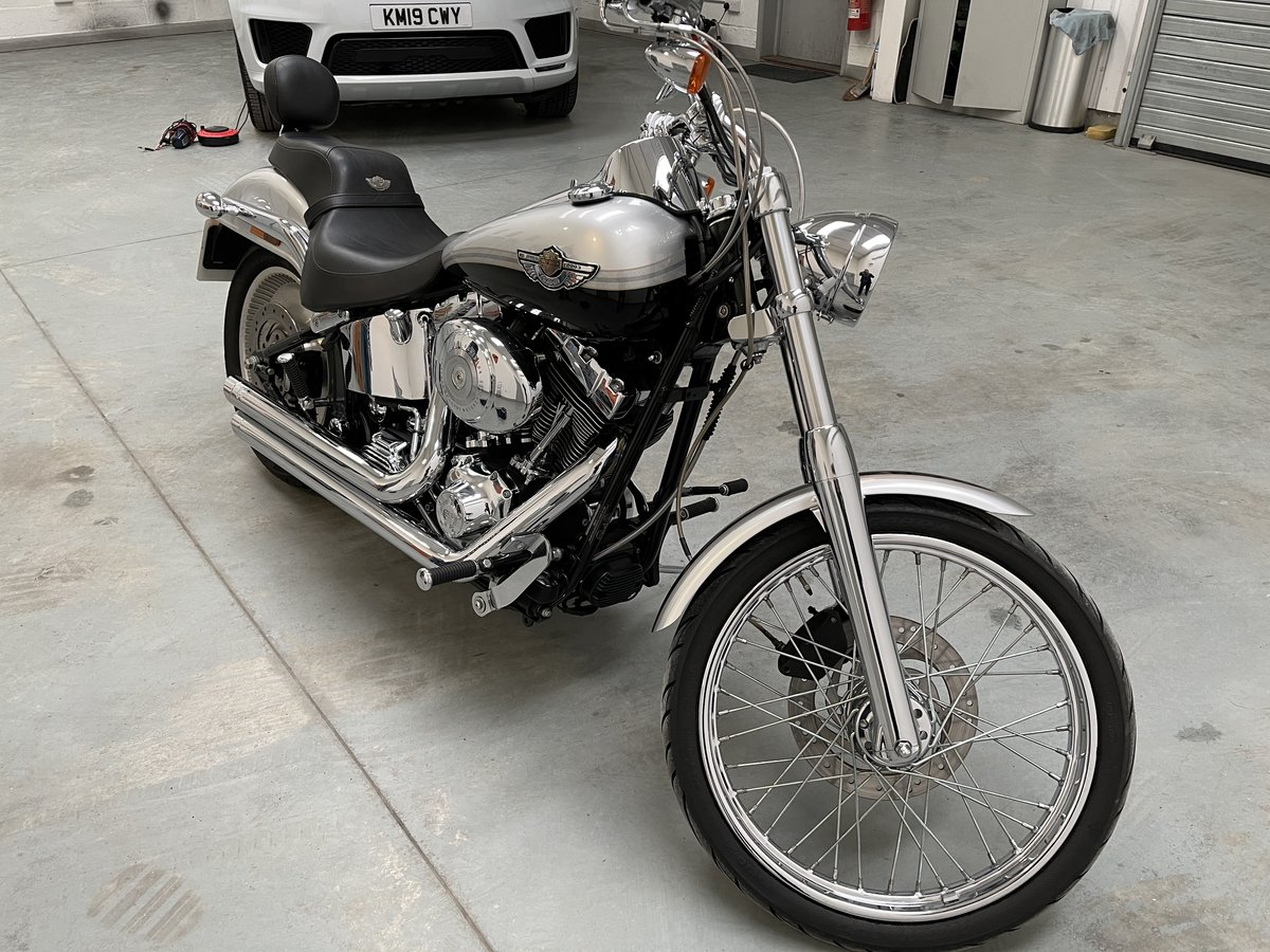 2003 Harley soft tail deuce For Sale (picture 7 of 12)