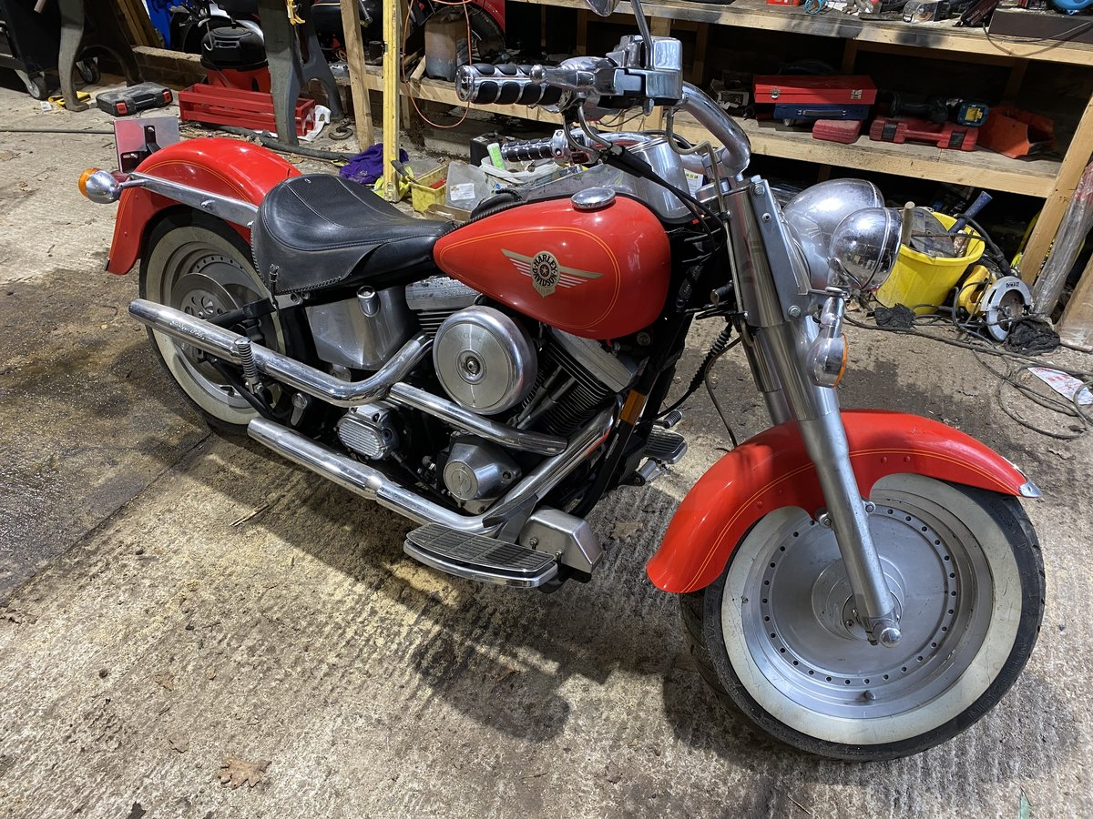 1999 Harley Davidson Fat Boy For Sale by Auction (picture 20 of 47)