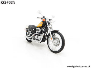 Picture of 2001 A Harley Davidson XL 1200C Sportster Custom, 316 Miles SOLD