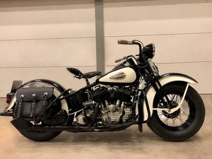 Picture of Harley davidson 1940 UL SOLD
