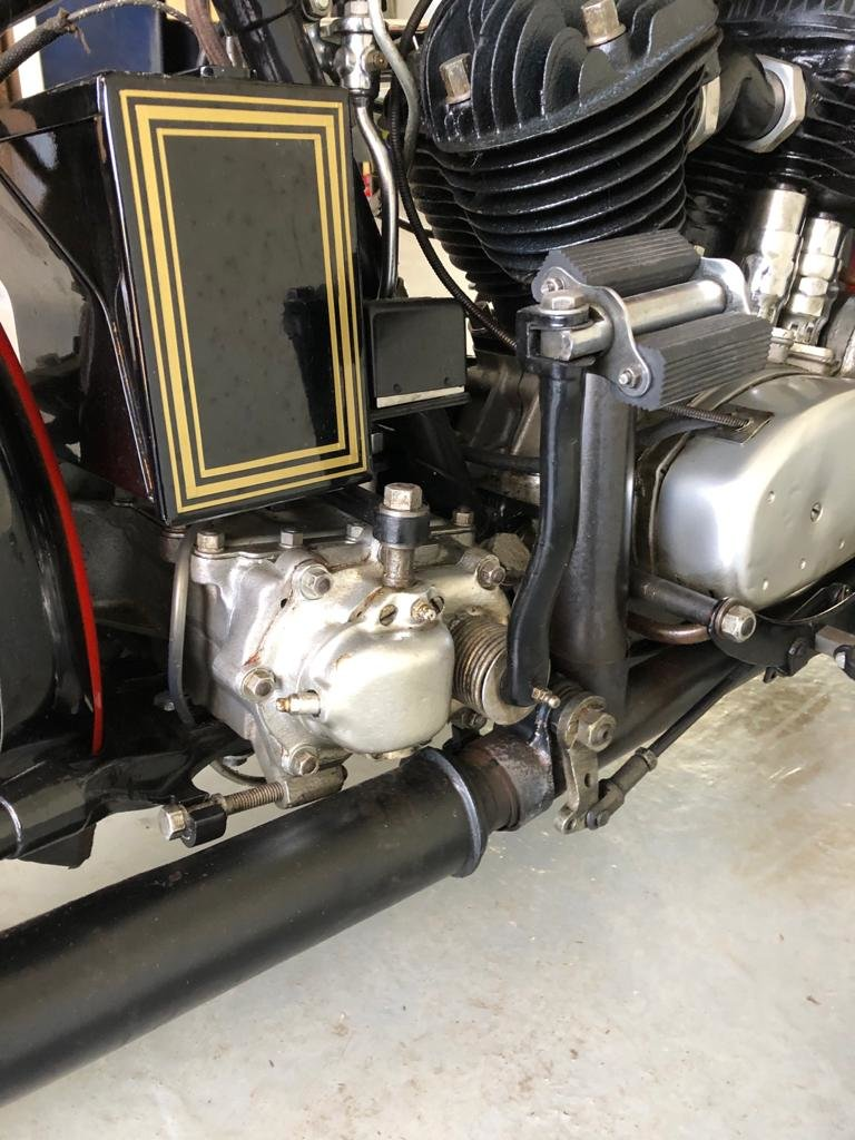 1933 Harley Davidson model VF 1200 For Sale (picture 5 of 12)