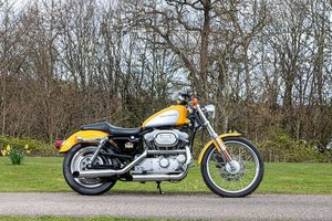 Picture of 2000 Harley-Davidson XL883C Sportster Custom Lot 81 For Sale by Auction
