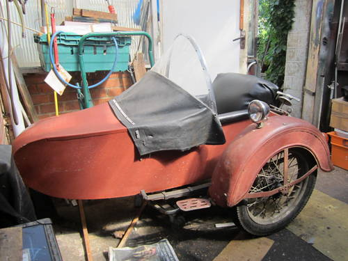 1936 Harley Davidson Sidecar SOLD | Car And Classic