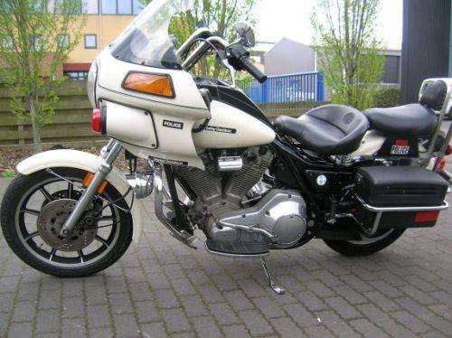 1987 Harley Davidson original Police FXR SOLD | Car And Classic