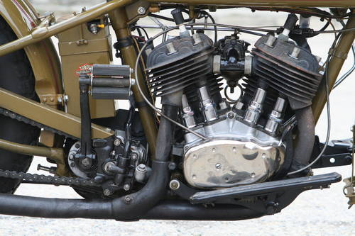 Harley Davidson 1931DL 750cc For Sale (picture 2 of 6)