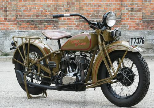 Harley Davidson 1931DL 750cc For Sale (picture 3 of 6)