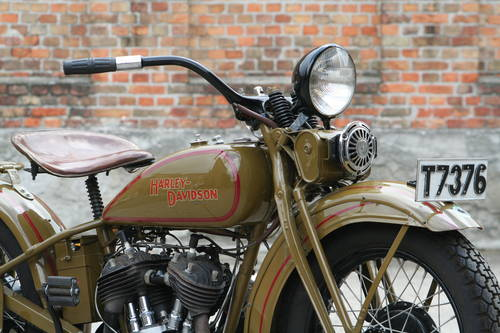 Harley Davidson 1931DL 750cc For Sale (picture 4 of 6)