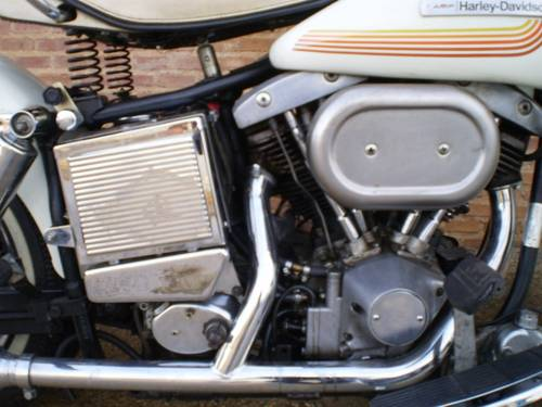 1976 Harley Davidson flh shovelhead 1200cc For Sale (picture 5 of 6)
