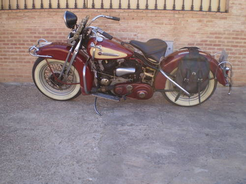 HARLEY DAVIDSON W37 750 cc YEAR 1937 For Sale (picture 2 of 6)