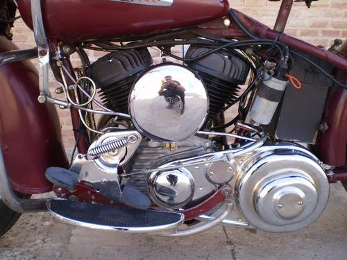HARLEY DAVIDSON WLA 750CC 1952 For Sale (picture 4 of 6)