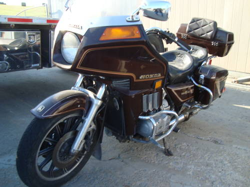 1982 Honda Gold Wing Interstate Motor Cycle For Sale (picture 1 of 6)