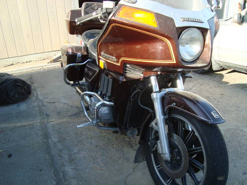 1982 Honda Gold Wing Interstate Motor Cycle For Sale (picture 2 of 6)