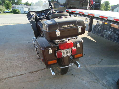 1982 Honda Gold Wing Interstate Motor Cycle For Sale (picture 3 of 6)