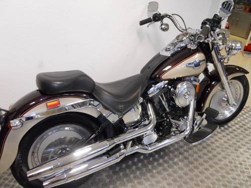 1998 Harley davidson fat boy 95 th anniversary For Sale (picture 1 of 6)