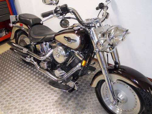 1998 Harley davidson fat boy 95 th anniversary For Sale (picture 4 of 6)
