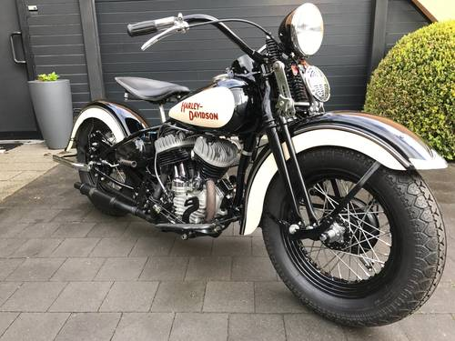 1942 Harley-Davidson - WL stroker 910cc- very fast bike For Sale (picture 1 of 2)