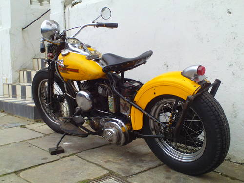 1942 HARLEY DAVIDSON 45 WLA SOLD (picture 4 of 6)