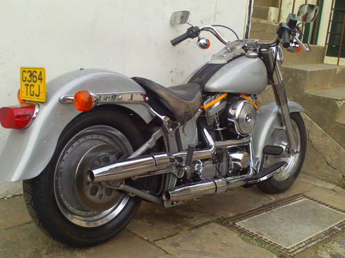 1990 HARLEY DAVIDSON FAT BOY GREY GHOST FLSTF SOLD (picture 2 of 6)