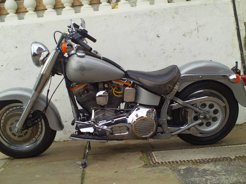 1990 HARLEY DAVIDSON FAT BOY GREY GHOST FLSTF SOLD (picture 3 of 6)