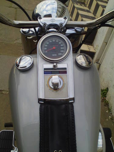 1990 HARLEY DAVIDSON FAT BOY GREY GHOST FLSTF SOLD (picture 5 of 6)