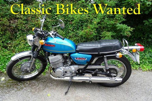 Classic Bikes Wanted Wanted (picture 1 of 1)