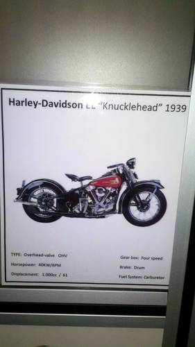 Harley Davidson Knucklehead, year 1939 For Sale (picture 3 of 4)