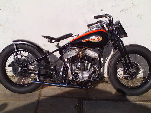 1942 HARLEY DAVIDSON 45 WLDR REPLICA SOLD (picture 1 of 6)
